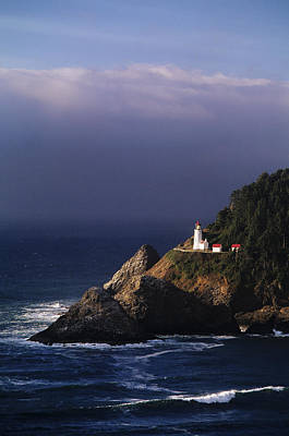 Heceta Head Lighthouse Poster by Greg Vaughn - Printscapes