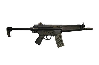 Heckler And Koch Hk53 Submachine Gun Poster
