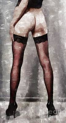 Heel Lover By Mary Bassett Poster