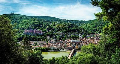 Poster featuring the photograph Heidelberg Germany by David Morefield