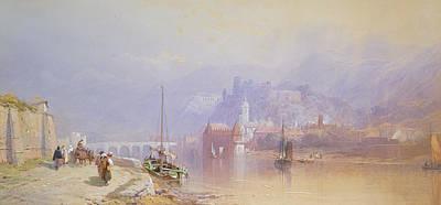 Heidelberg Poster by Thomas Miles Richardson