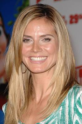 Heidi Klum At Arrivals For Hoodwinked Poster by Everett