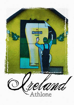 Heineken Athlone Ireland Poster by Teresa Mucha
