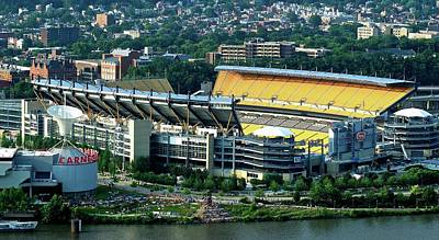 Heinz Field From Above Poster