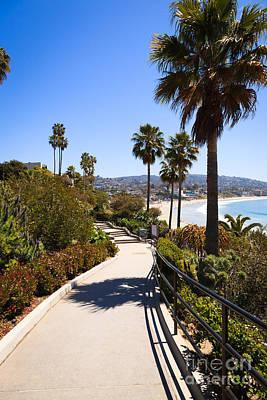 Heisler Park Laguna Beach California Poster by Paul Velgos