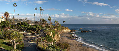 Poster featuring the photograph Heisler Park Panoramic by Cliff Wassmann