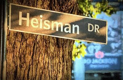 Heisman Drive Bo Jackson Poster