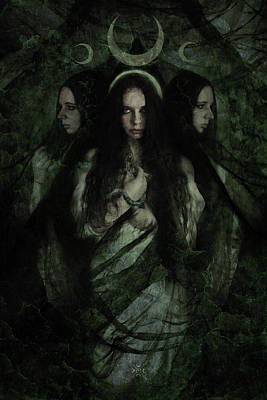 Hekate Poster by Cambion Art
