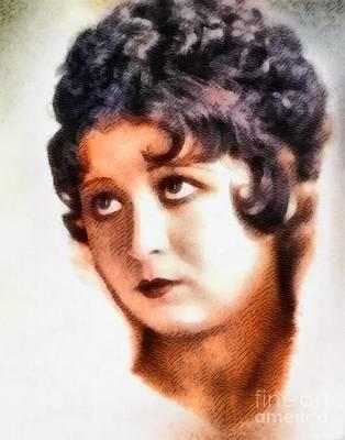 Helen Kane, Betty Boop, Vintage Hollywood Legend Poster by John Springfield