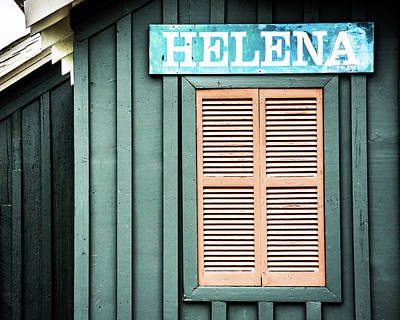 Poster featuring the photograph Helena Sign On A Spring Day by Parker Cunningham