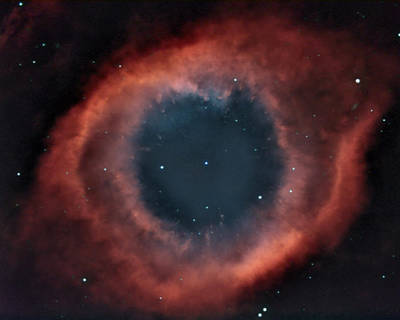 Poster featuring the photograph Helix Nebula by Charles Warren