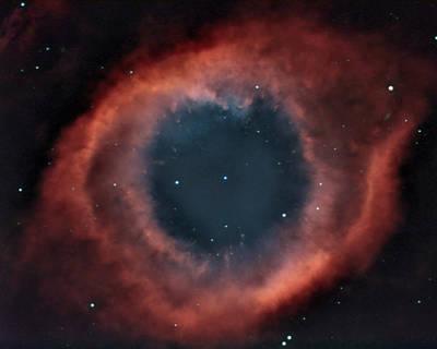 Helix Nebula Poster by Charles Warren