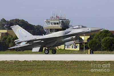 Hellenic Air Force F-16d Block 52 Poster by Daniele Faccioli