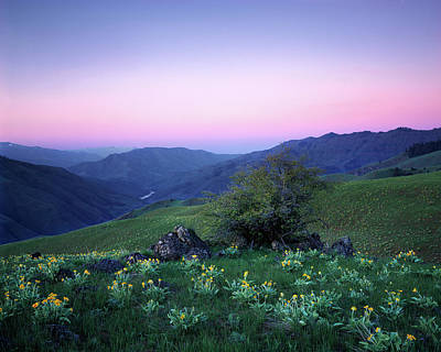 Hells Canyon Sunrise Poster