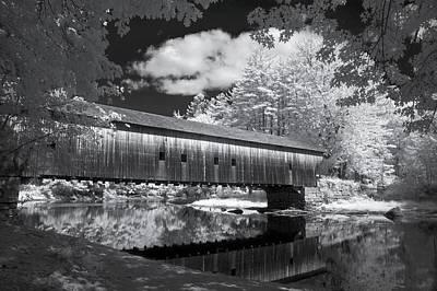 Hemlock Covered Bridge Poster by James Walsh