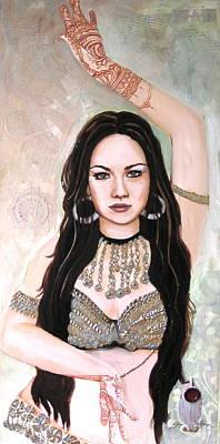 Henna Hands Poster by Stephanie Bolton