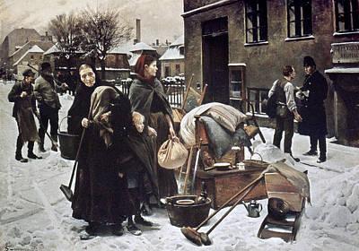 Henningsen  Evicted 1890 Poster by Granger