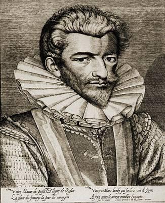 Henri De Lorraine, Duc De Guise Poster by Vintage Design Pics