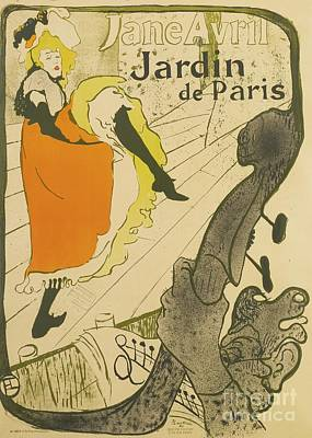 Henri De Toulouse Lautrec Poster by MotionAge Designs