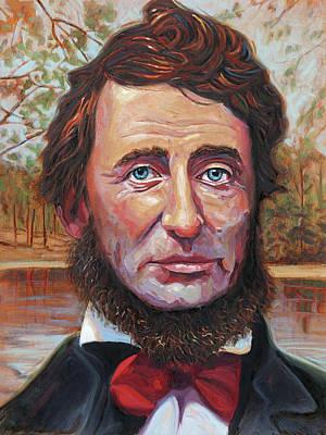 Henry David Thoreau Poster by Steve Simon