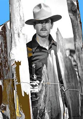 Henry Fonda Wyatt Earp My Darling Clementine 1946 At The Ok Corral Poster