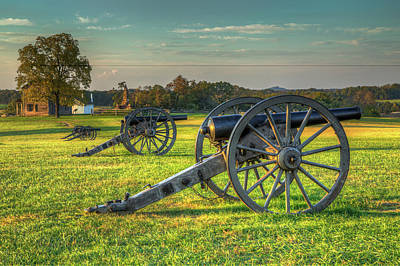 Henry House Artillery Poster