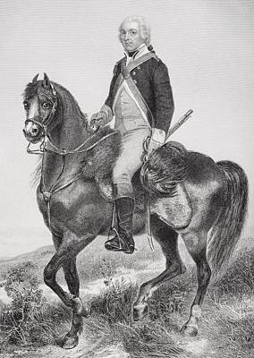 Henry Lee 1756 - 1818. Cavalry Officer Poster