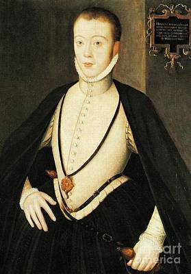 Henry Stewart Lord Darnley Married Mary Queen Of Scots 1565 Poster