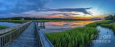 Heritage Shores Nature Preserve Sunrise Poster