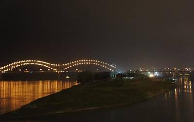 Hernando De Soto Bridge, Memphis, Tn Poster by Art Spectrum