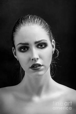 Heroine Makeup Poster by Aleksey Tugolukov