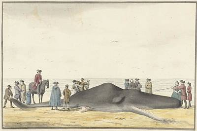 het strand tussen Zandvoort  Poster