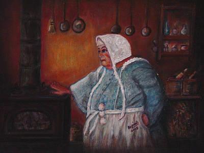 Hey Good Lookin' Whatcha Got Cookin'? Poster by Regina Brandt