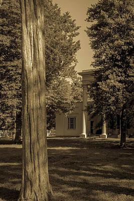 Poster featuring the photograph Hidden Columns  by James L Bartlett