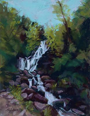 Hidden Falls Poster by Mary Benke