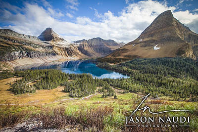Poster featuring the photograph Hidden Lake by Jason Naudi