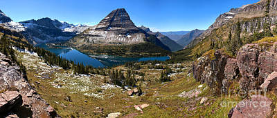 Hidden Lake Landscape Panorama Poster