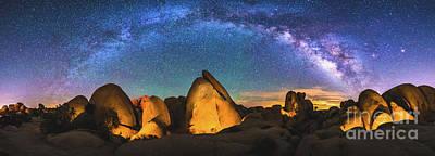 Hidden Valley Milky Way Poster