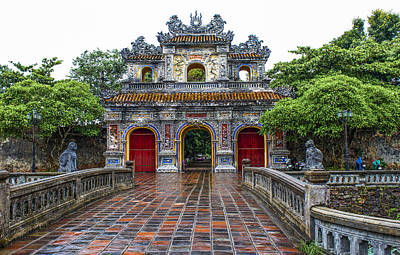Hien Nhon Gate, Citadel, Hue,vietnam Poster