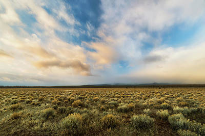 Poster featuring the photograph High Desert Morning by Ryan Manuel