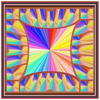 High Energy Sparkle Rainbow Decorations Poster by Navin Joshi
