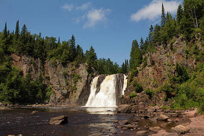 High Falls At Tettegouche State Park Poster