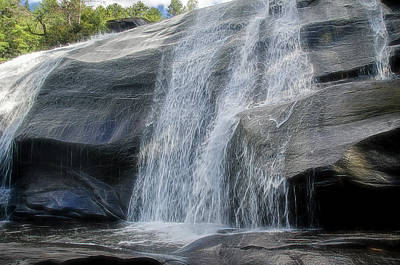 Poster featuring the photograph High Falls Two by Steven Richardson