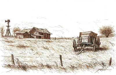 High Plains Quietude Poster by Larry Prestwich