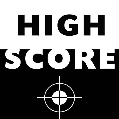 High Score- Art By Linda Woods Poster by Linda Woods