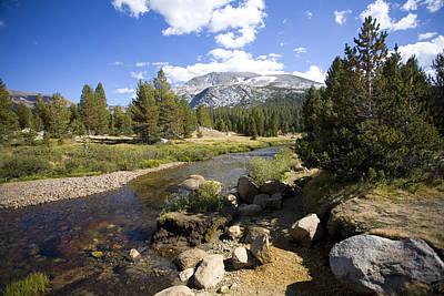 High Sierras Stream Poster