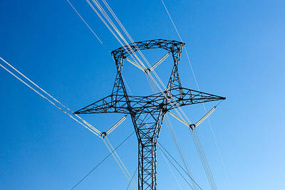 High Voltage Tower Poster