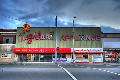 Highland Appliance Superstore Poster by Gordon Dean II