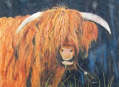 Highland Bullringer Poster