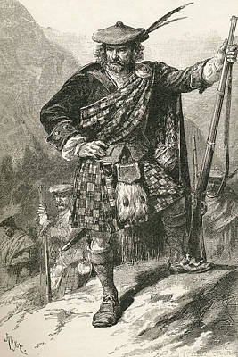 Highland Chieftain. From The World S Poster by Vintage Design Pics